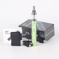 battery patents - X6 upgraded Kit original patented X9 Battery With V2 Atomizer mah V V V