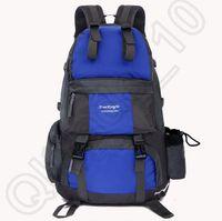 Wholesale 100PCS LJJH1241 Hot L Outdoor Sport waterproof Nylon Hiking Camping Travel Backpack Daypack Trekking Rucksack Bag