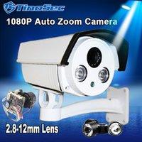 auto surveillance cameras - 1 P IP Camera Auto Zoom mm Varifocal Array Outdoor Camera IR CUT Filter Night Vision Video Surveillance Camera