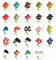 Wholesale 2015 Summer Baby Moccasins Soft Moccs Baby Shoes Newborn Baby firstwalker Anti slip Leather Infant shoes color Retail