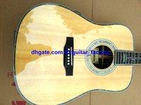 abalone mosaic - Classic Acoustic Guitar Natural Abalone shell Mosaic