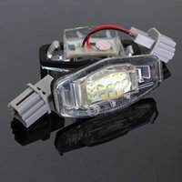 acura tsx led - 18 LED License Number Plate Lights Lamp for Honda Accord For Odyssey For Acura For TSX For Civic order lt no track