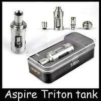 Wholesale 2015 clone aspire triton tank Triton tank kit ml Sub Ohm RTA Atomizer ohm RBA Atomizer vs aspire atlantis Arctic Sub Ohm Tank