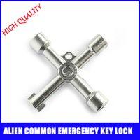 auto general - Silver hot sale useful Alien common emergency key lock Door General locks universal open door locks
