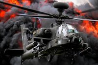 apache package - Wall Poster Decal for Wedding Festival Home Decoration the apache helicopter Poster For Rooms Party