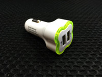 Cheap DC12V usb car power Best Under 10 Volts iPhone 3 & 4 car dual charger