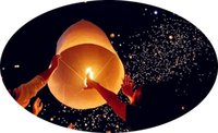 Cheap Wholesale Colorful Chinese Wishing Lamps Lights Wedding Balloons Flying Paper Sky Lanterns Birthday Party Decoration