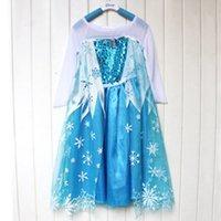 Cheap TuTu frozen Best Spring / Autumn Ball Gown Children Dresses