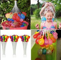 bubble toy - Bunch Balloons Assorted Color Water Magic Balloons Fill In Bunches Per Minute Children Summer Water Game Toys Amazing Water Sprinklin