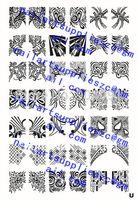 Wholesale HOTSALE U Z Series XL Medium Size Stamp Stamping Image Konad Plate Print Nail Art Large BIG Template DIY