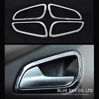 Wholesale Car stainless steel interior doors hand clasping decoration ring for Ford Focus