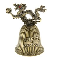bell business - 2015 New products for crafts classic golden bells for the New Year souvenir of The business is booming the Russia mini bells