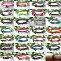 South American nylon rope - 27pcs Blace Anchor Bracelet Nylon Rope Bracelet Nautical Unisex Women Men