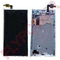 Wholesale LCD Display digitizer touch Screen FOR iNew V3 Cellphone Assemblely White by