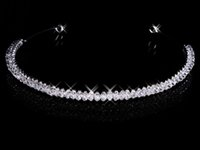 Wholesale In Stock Cheap Magnetic Diamond Rhinestone Wedding Crown Hair Band Tiara Bridal Prom Jewelry