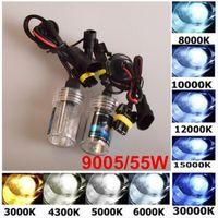 Wholesale 12V Car Xenon HID Bulb W H4 Car Headlight Bulbs HID Xenon Headlamp K K K K K K K K H4 Bulbs