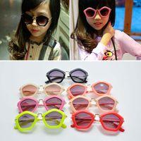 Cheap 2015 Children Fashion Accessories Girls Sunglasses For Girls Cheap Sunglasses Baby Girls Kids Summer Glasses C3761