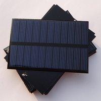 Wholesale 1 W V Solar Cell Solar Panel DIY Solar Charger Polymer Solar Panel Solar Module