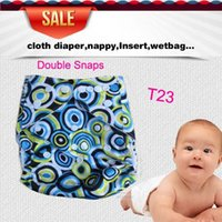 Wholesale Double Snaps Diaper Covers For Promotion Cloth Diaper nappies Without Inserts US Mexico Canada zz1