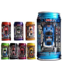 car remote - 4PCS HHA142 Mini Racer Remote Control Car Coke Can Mini RC Radio Remote Control Micro Racing kids toy car