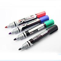 Wholesale 24pcs Big size Black Red Blue permanent marker pen pens Multi function stationery gel ink marking pen
