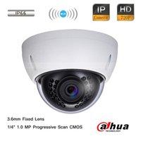 Dahua 1MP 720P HD Wi-Fi IR mini CCTV seguridad impermeable cámara domo 3.6mm lente