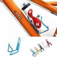 Wholesale New Aluminum Alloy Bike Bicycle Cycling Drink Water Bottle Rack Cage Holder