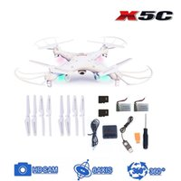Cheap Syma X5C Remote Control Quadrocopter 4-Channel 2.4GHz RC Helicopter Explorers Quadcopter w 6-Axis Gyro 2MP Camera DHL free