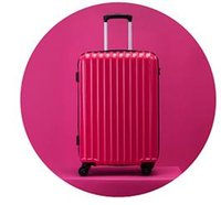 Wholesale bromen Trolley theft zipper luggage suitcase caster mirror password Trolley Hard luggage inch Pink