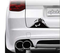Wholesale 19 cm Funny Peeking Monster Auto Car Walls Windows Sticker Graphic Vinyl Car Decals Car Stickers Accessories
