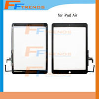 air suppliers - Factory Supplier for iPad Air th Touch Screen Digitizer Assembly with Home Button White Black Glass Panel Good Price