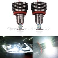 e71 red - 2X20W W H8 CREE LED Angel Eyes Ring Marker Headlight Light Bulb For BMW E87 E82 E90 E91 E92 E93 X5 E70 E60 E61 E63 E70 E71 order lt no tra