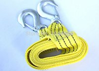 belt trailers - new Car trailer rope trailer belt meters trailer hook Car Tow Rope Strap Belt Towing Ropes Real materials