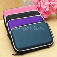 Wholesale Waterproof Shockproof HDD Case Bag Cover Protector Black For Inch Hard Disk Drive External Pouch Enclosure
