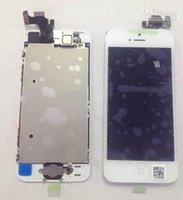 Cheap iPhone 5 LCD SCreen Display Black White LCD Display & Touch Screen Digitizer Full Assembly for iPhone 5 Replacement Repair Parts DHL free