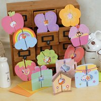 best die cutting - Mini Cartoon Birthday cards Greeting Cards With Envelope Congratulation Best Wishes for friend Die cutting
