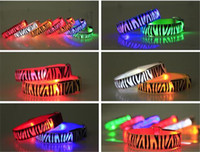 ankle wrap support - 260pcs hot colors Led Arm band Safety Reflective Belt strap Snap Wrap Wrist Ankle Armband for Outdoor Sports D585