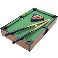 Wholesale US Stock New Mini Pool Table Ball Snooker Top Desktop Table Game Gadget Toy Novelty Gift Billiards Fitness Toys For Children Kids US50