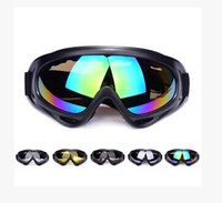 Wholesale Cycling Bike Motorcycle ATVMotocross Ski Snowboard Off Road Goggles Fits Over X400 UV Cycling Ski Glasses CS Action Eyewear Lens SZ16 G01