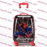 Wholesale Hot Sale Children Backpacks Pull Rod Bags Travel Thermal Bag Kid Cartoon Box Outdoor School Bags with Wheels