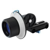 Wholesale Quick Release Clamp DSLR Follow Focus FF with Adjustable Gear Ring Belt for mm Rod Rig D D2 GH2 D7000