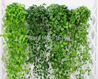 Pineapples - 120cm cm Artificial Grape leaves Wall Hanging Green plants Home Decoration Ivy Simulation Rattan Green Pineapple