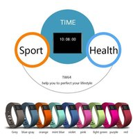 flex belt - 100PCS tw64 Watch Wrist band Fitness tracker fitbit flex Watch Bluetooth Passometer Watches for ios android