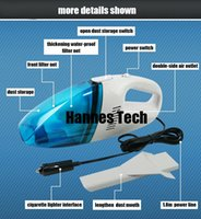 Wholesale Hannes tech mini vacuum cleaner car cleaner car use Wet and dry dual use and retail