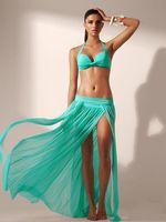 beach tunics - New Fashion Beach Cover Up Pareos Tunic Skirt Beach Dress Summer Sexy Swimwear Swimsuit Bathing Suit Cover Ups Fast Shipping