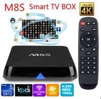 Quad Core android movie player - M8S M8 S812 Smart Android TV Box K XBMC KODI H Amlogic Quad Core GB Ram GB Stream Sports Movie Media Player