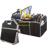 auto cargo box - 100 New Car Seat Organizer Trash Bin Auto Trunk Cargo Collapsible Storage Folding Zakka Boxes Sundries Large