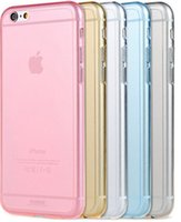 apple crystal gifts - Xmas Gift Transparent TPU gel Crystal Clear New Ultra Thin mm Clear Soft Back Case Cover Skin For iPhone Apple quot DHL EMS Free