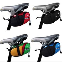 Wholesale New Arrival ROSWHEEL Outdoor Cycling Mountain Bike Bicycle Saddle Bag Back Seat Tail Pouch Package Multi color