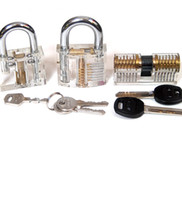 ab locks - HOT Affordable Rates different transparent practice padlock include wafe lock AB kaba lock andpadlock